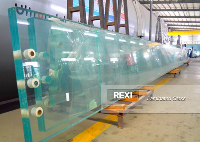 Oversized Laminated Glass Fins